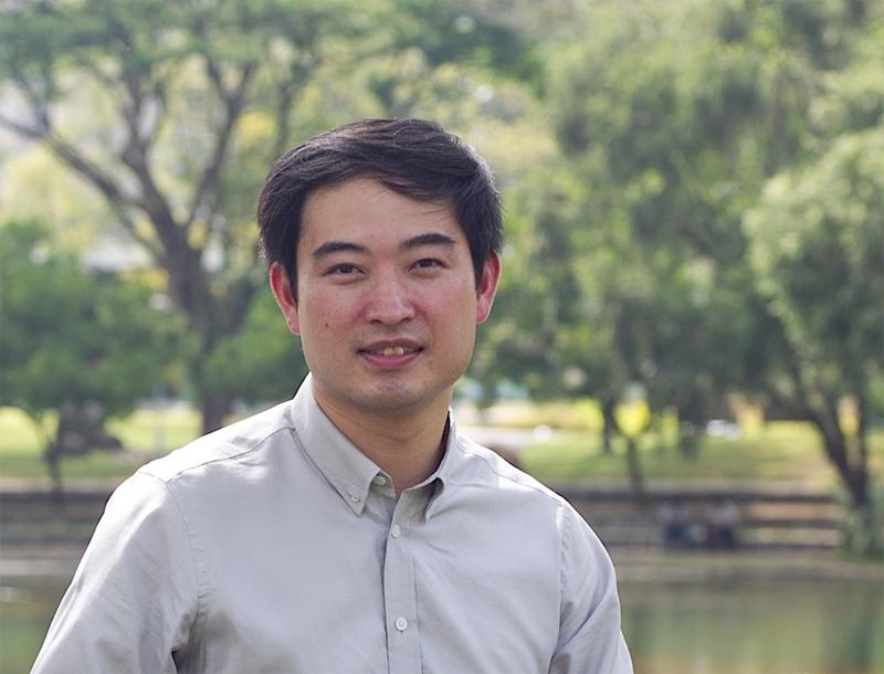 Alex in Bishan Park, Singapore