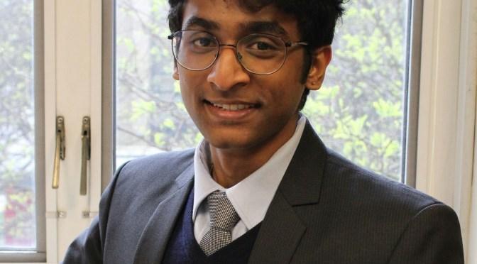 Headshot of Aarudra Moudgalya