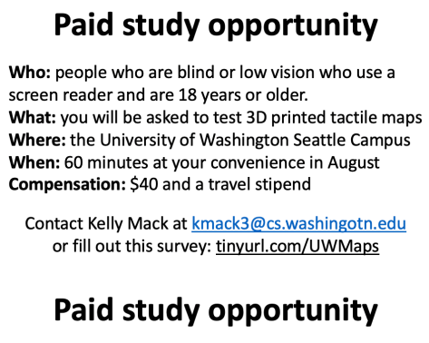 """A picture titled """"Paid study opportunity"""""""