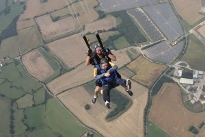 skydive experience with virgin experience