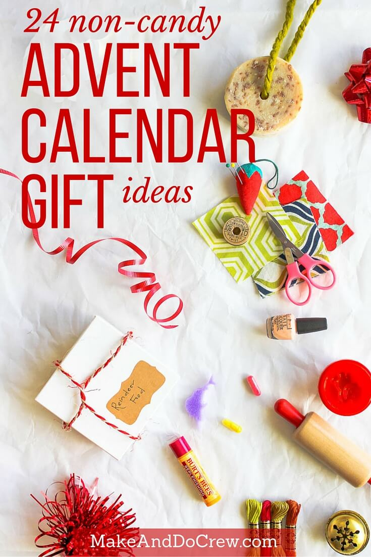 24 Christmas Advent Calendar Gift Ideas That Arent Candy