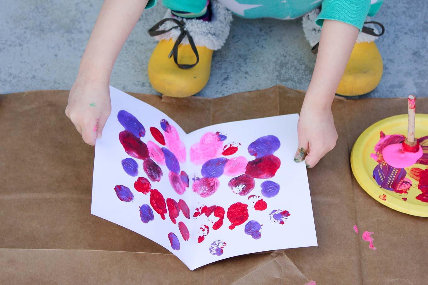 Butterfly Spring Art Project For Kids
