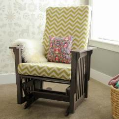 How To Recover Glider Rocking Chair Cushions Soft Bean Bag Chairs A Photo Tutorial