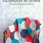 Happy Hexagons Free Crochet Afghan Pattern Make Do Crew