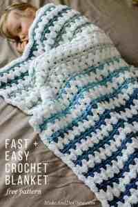 Tributary Free Beginner Crochet Baby Blanket Pattern ...