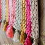 Modern Crochet Granny Stitch Blanket Free Pattern Make Do Crew