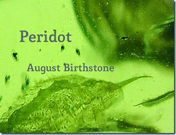 Peridot–August Birthstone