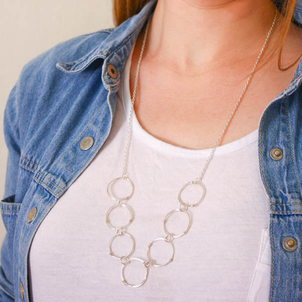 wire link chain necklace-26