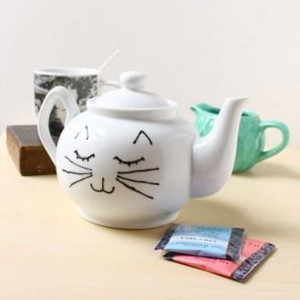 DIY Cat Face Teapot