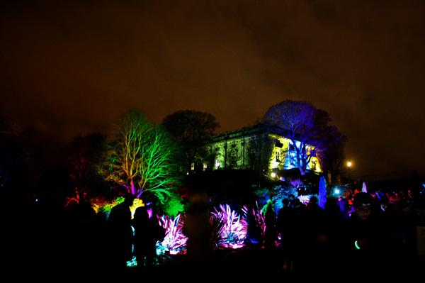 Light Night Nottingham 2016 - Nottingham Castle