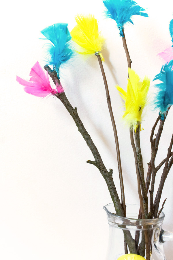 Scandinavian Easter Paskris Tree DIY