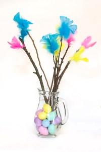 Scandinavian Easter Tree DIY