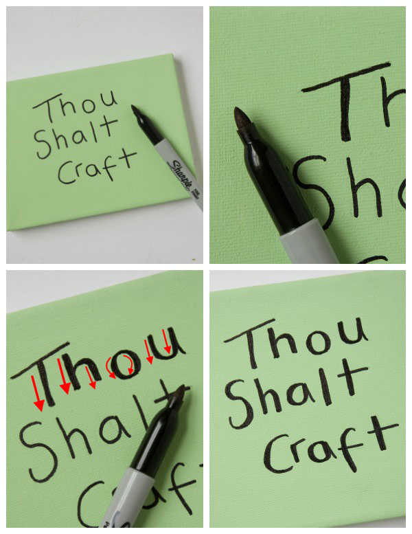 Shakespeare quote craft DIY