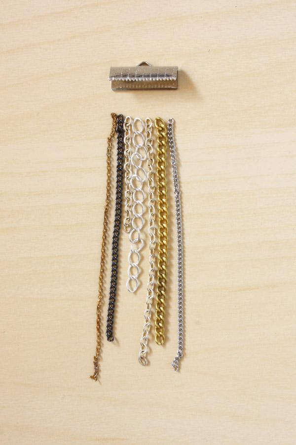 Chain Fringe Necklace DIY Tutorial