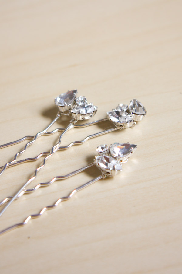 Diamante Hair Pins Make And Fable
