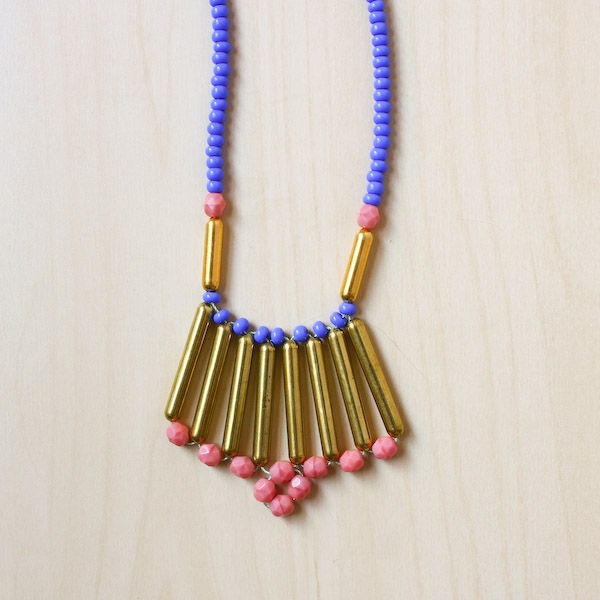 Tribal Necklace DIY Tutorial