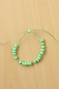 DIY Seed Bead Chain Necklace Tutorial