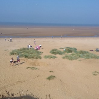 Visiting North Norfolk - Old Hunstanton Beach