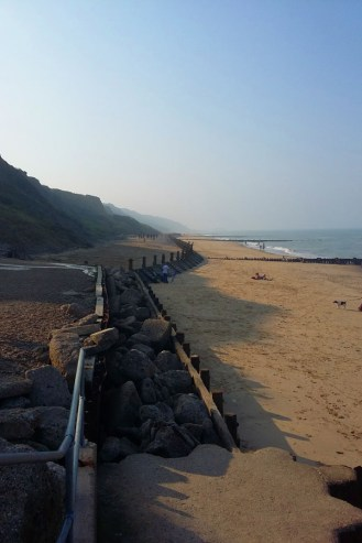 Visiting North Norfolk - Overstrand Beach