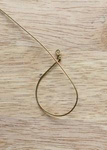 Crescent Moon Necklace DIY