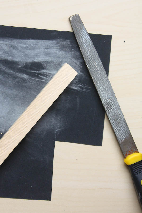 Wood and Brass Jewellery Holder DIY