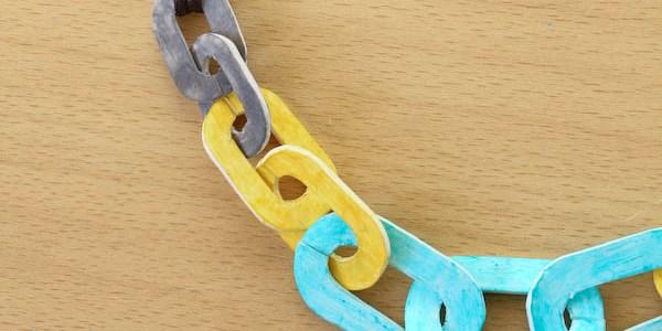 Shrink Plastic Necklace Chain DIY