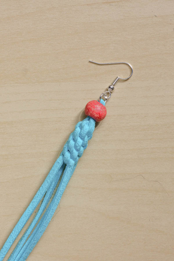 Statement Knotted Tassel Earrings DIY Tutorial