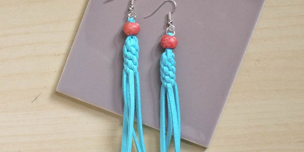 Knotted Tassel Earrings DIY