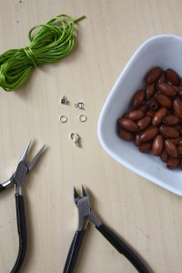 Autumn Bead Necklace DIY Tutorial by Make and Fable-12