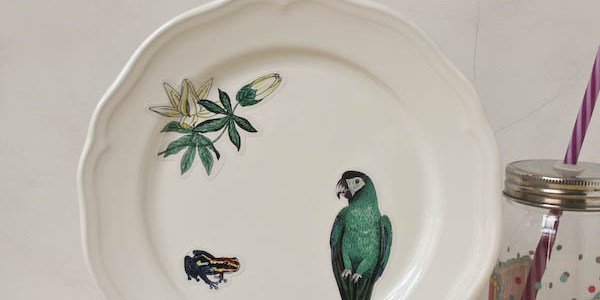 Decorative Plate DIY
