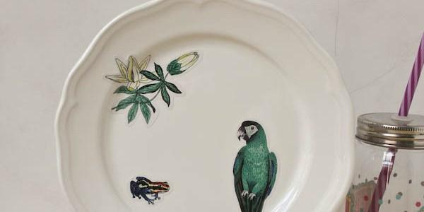 Decorative Plate DIY