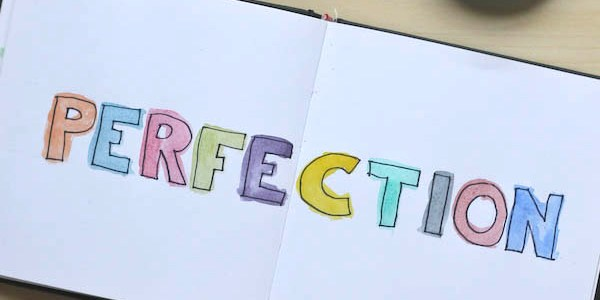 Creativity and Perfectionism- How to conquer creative perfectionism and just get on with creating.