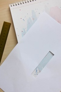 Painted Magnetic Bookmark DIY by Make and Fable