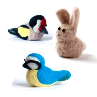 Needle Felted Creatures