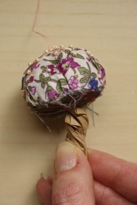 Fabric and Bead Toadstools DIY tutorial by Make and Fable