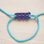 How to tie a Square Sliding Knot by Make and Fable
