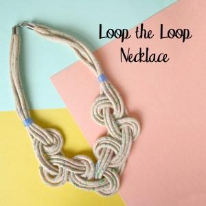 Loop the Loop Macrame Necklace Pattern