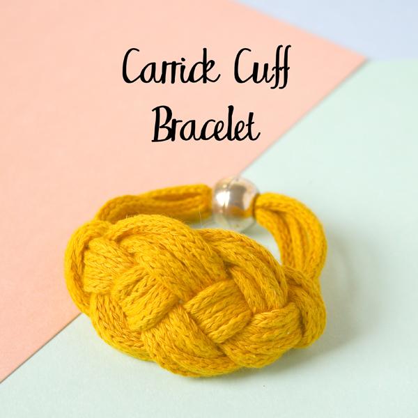Carrick Cuff Macrame Bracelet Tutorial