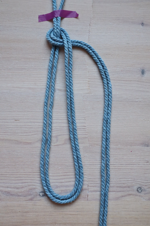 Macrame Braid Necklace Tutorial by Make and Fable 3