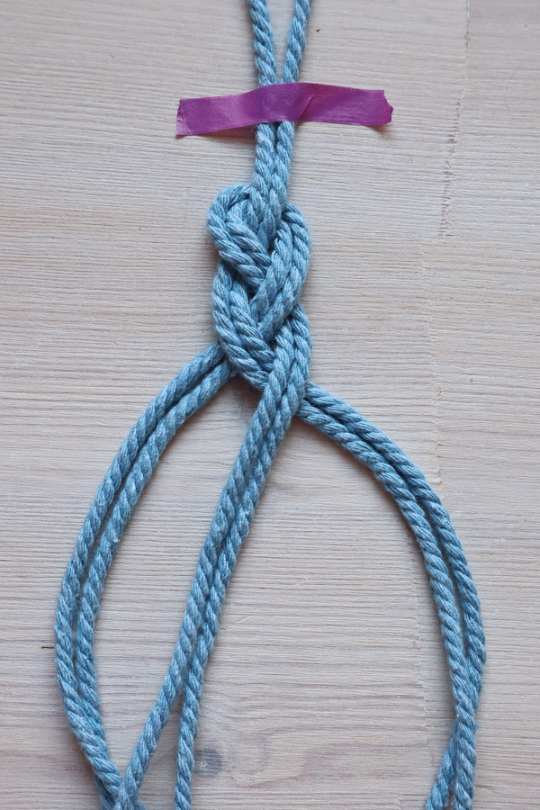 Macrame Braid Necklace Tutorial by Make and Fable 5