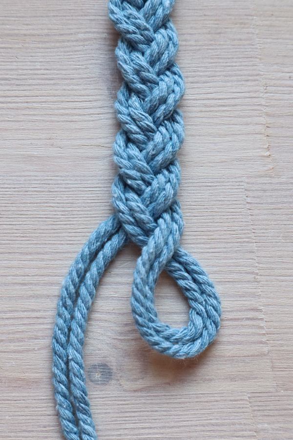 Macrame Braid Necklace Tutorial by Make and Fable 9