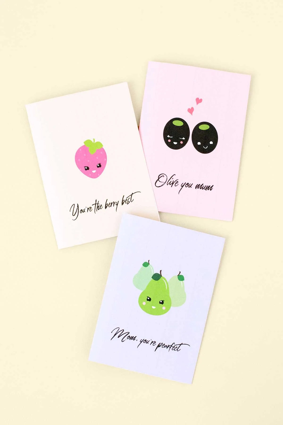 Printable Pun Mothers Day Cards Make And Tell