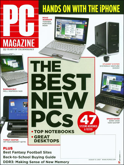 PC Magazine Cover - MAKE APP Magazine