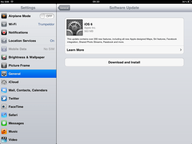 Download iOS 6 Part 2
