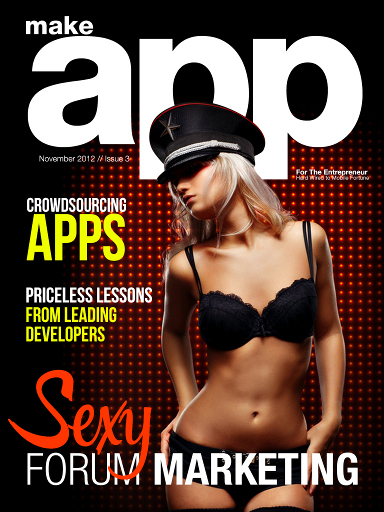 Make app mag issue 3 cover