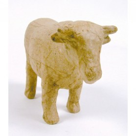 Image of Decopatch AP613O Extra Small Cow - Brown Mache