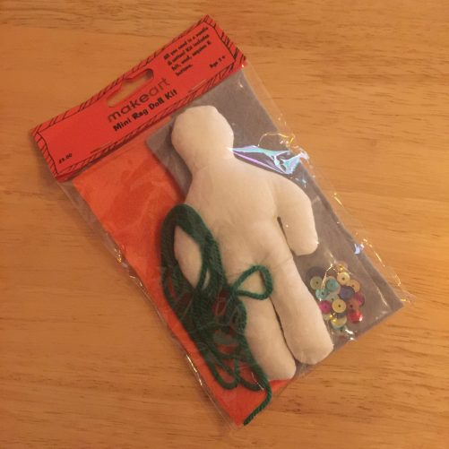 Product Image of a rag doll kit
