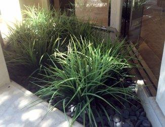 UV faux grass