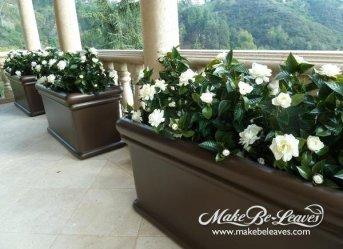 UV silk Gardenia plant
