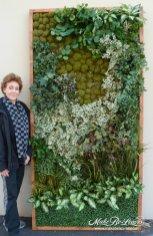 silk living green wall